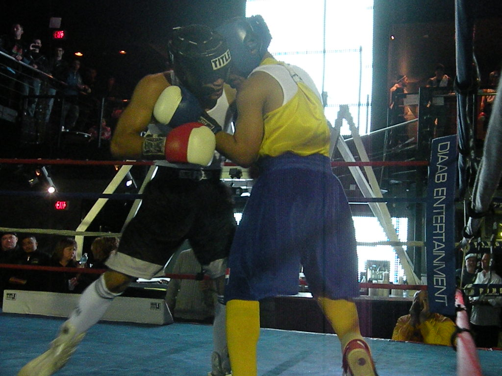 Amateur Boxing at the LUX
