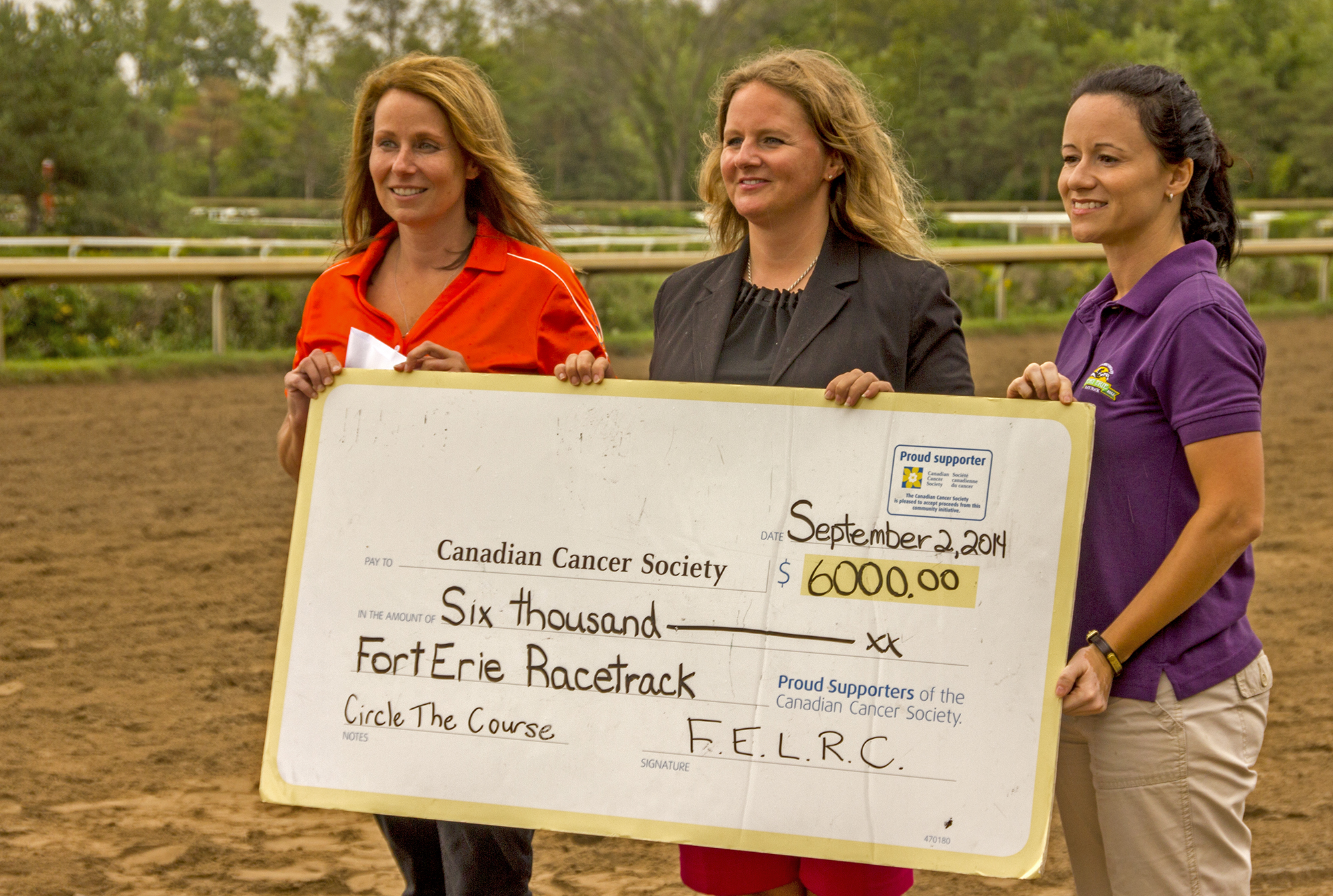 Circle the Course Raises a Record High - Fort Erie Race Track