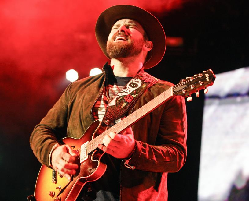 Zach Brown Band Performs at Darien Lake Performing Arts Center August 23, 2014