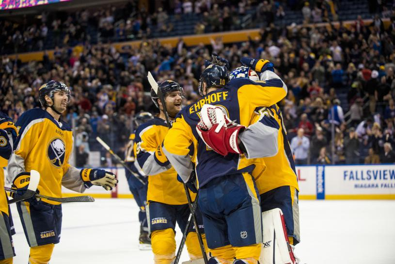 Sabres beat Devils in Shootout Win